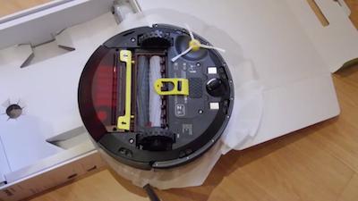 iRobot Roomba 865 da sotto