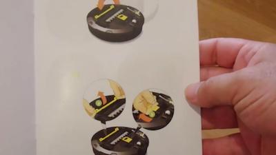 istruzioni roomba