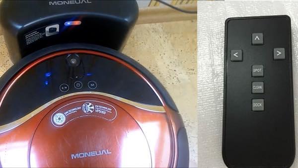 moneual me770 controllo tasti telecomando