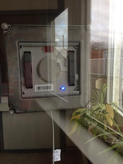 ecovacs winbot 850 su finestra