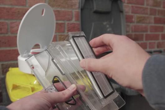 filtro e contenitore polvere xiaomi mi robot